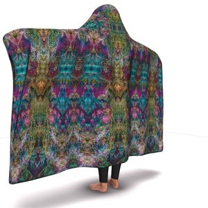SPIRIT GUIDE PREMIUM HOODED BLANKET with WRIST STRAPS