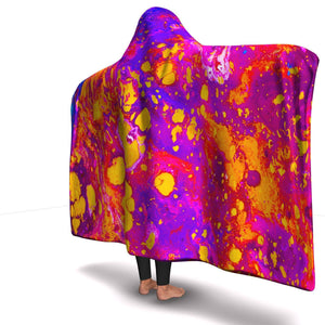 DAY TRIPPIN PREMIUM HOODED BLANKET with WRIST STRAPS