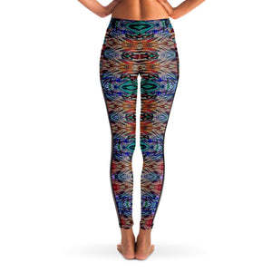 SACRAL BREATH PREMIUM MESH POCKET YOGA LEGGINGS