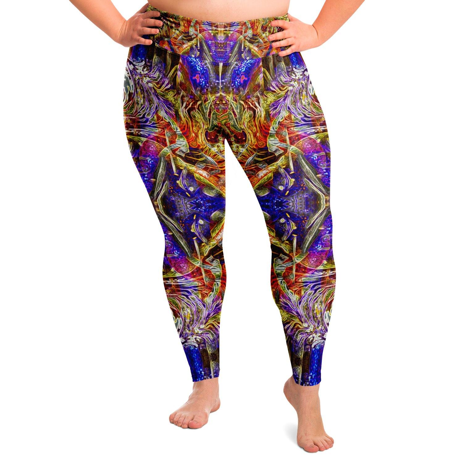 Nirvana Bliss Premium Plus Size Yoga Leggings