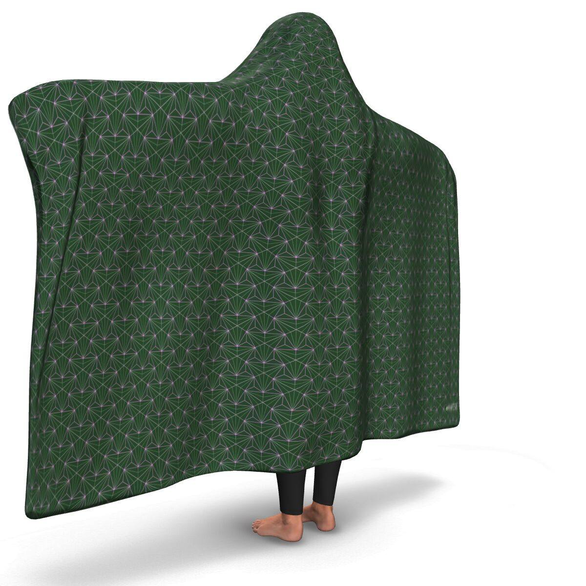 JADE PREMIUM HOODED BLANKET with WRIST STRAPS | Plush, Premium Sherpa | Kids, Adult