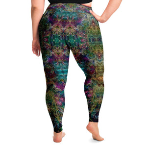 Spirit Guide Premium Plus Size Yoga Leggings