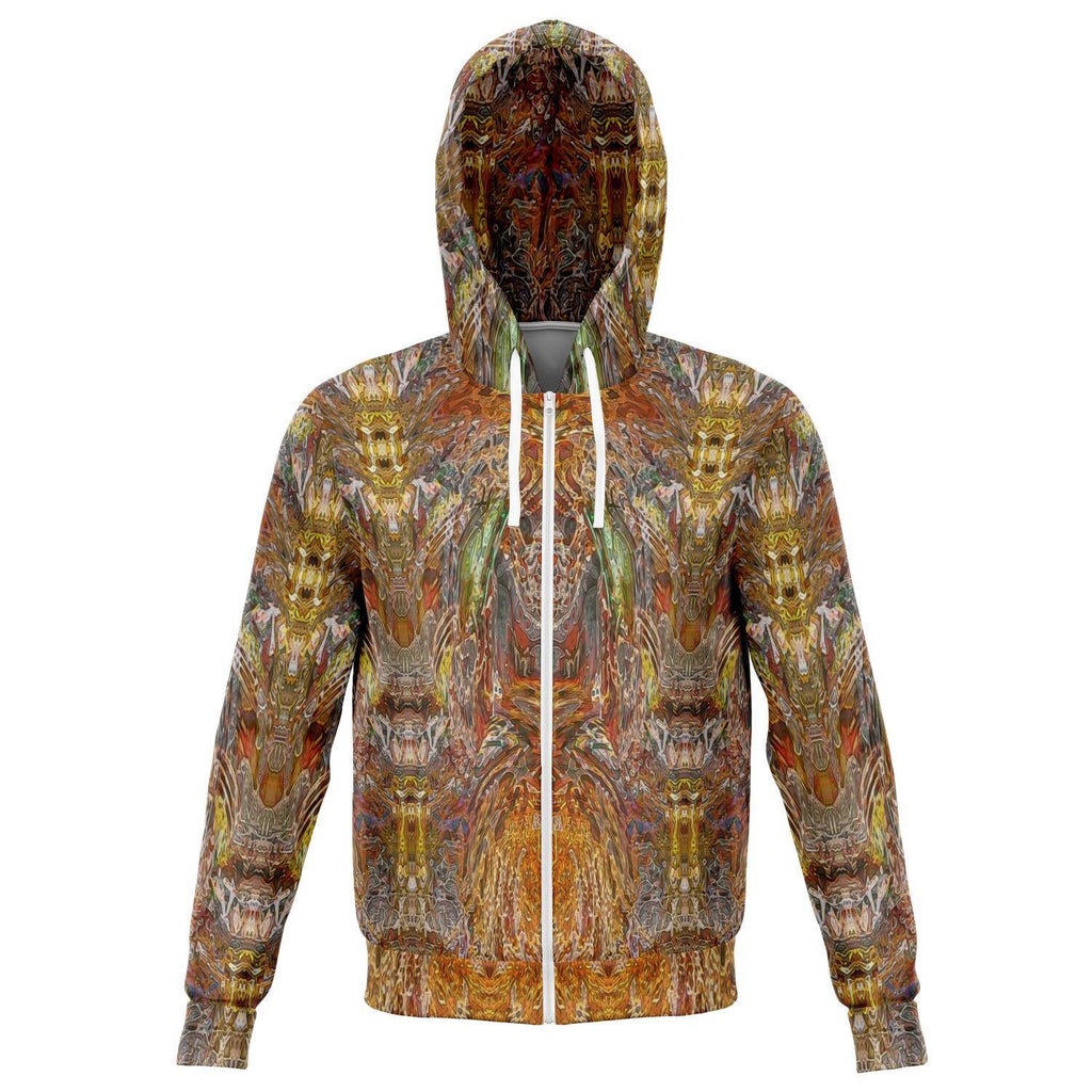 GOLDEN AMBER PREMIUM ZIP UP HOODIE