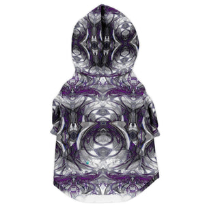 ARCHANGEL IN PURPLE PREMIUM DOG ZIP UP HOODIE