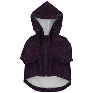 AMETHYST SACRED CONNECTIONS PREMIUM DOG ZIP UP HOODIE