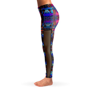 ASCENDENT PREMIUM MESH POCKET YOGA LEGGINGS - Manifestie