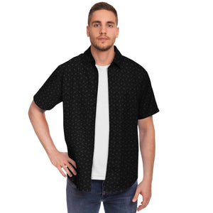 Onyx Sacred Connections Short Sleeve Button Down Shirt - Manifestie