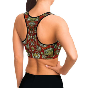 Ceramic Dreams Sports Bra