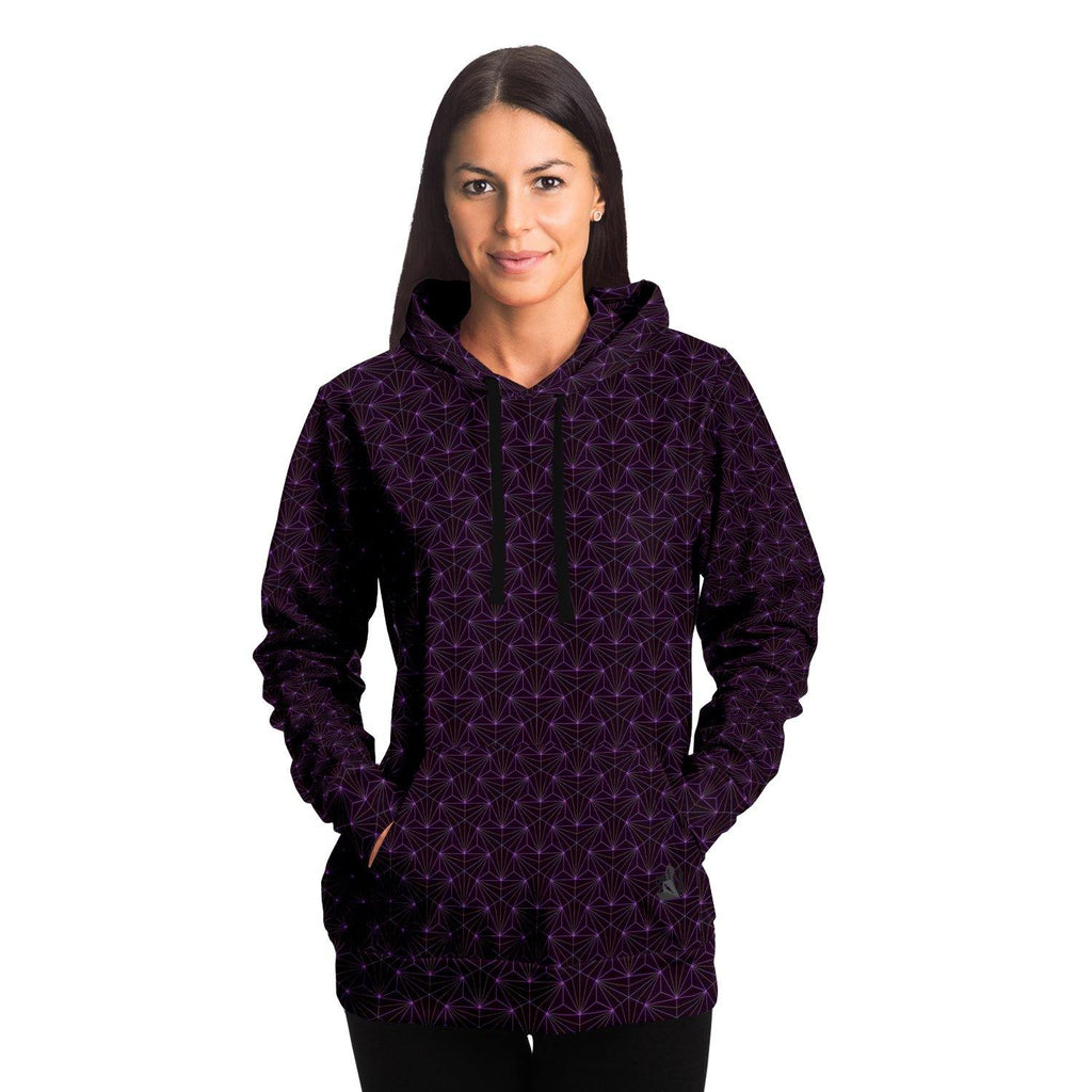Amethyst Sacred Connections Premium Pullover Hoodie