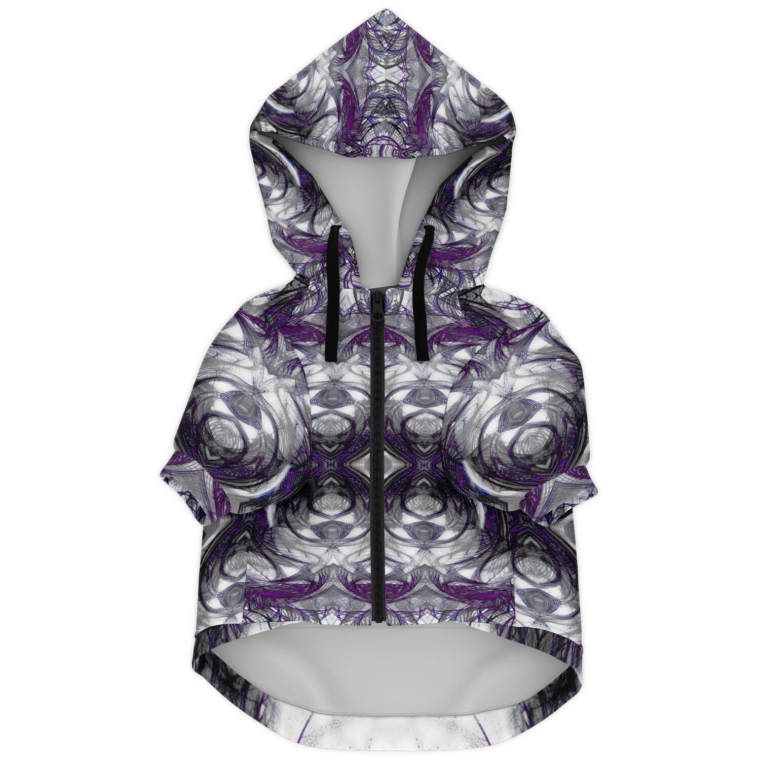 ARCHANGEL IN PURPLE PREMIUM DOG ZIP UP HOODIE - Manifestie