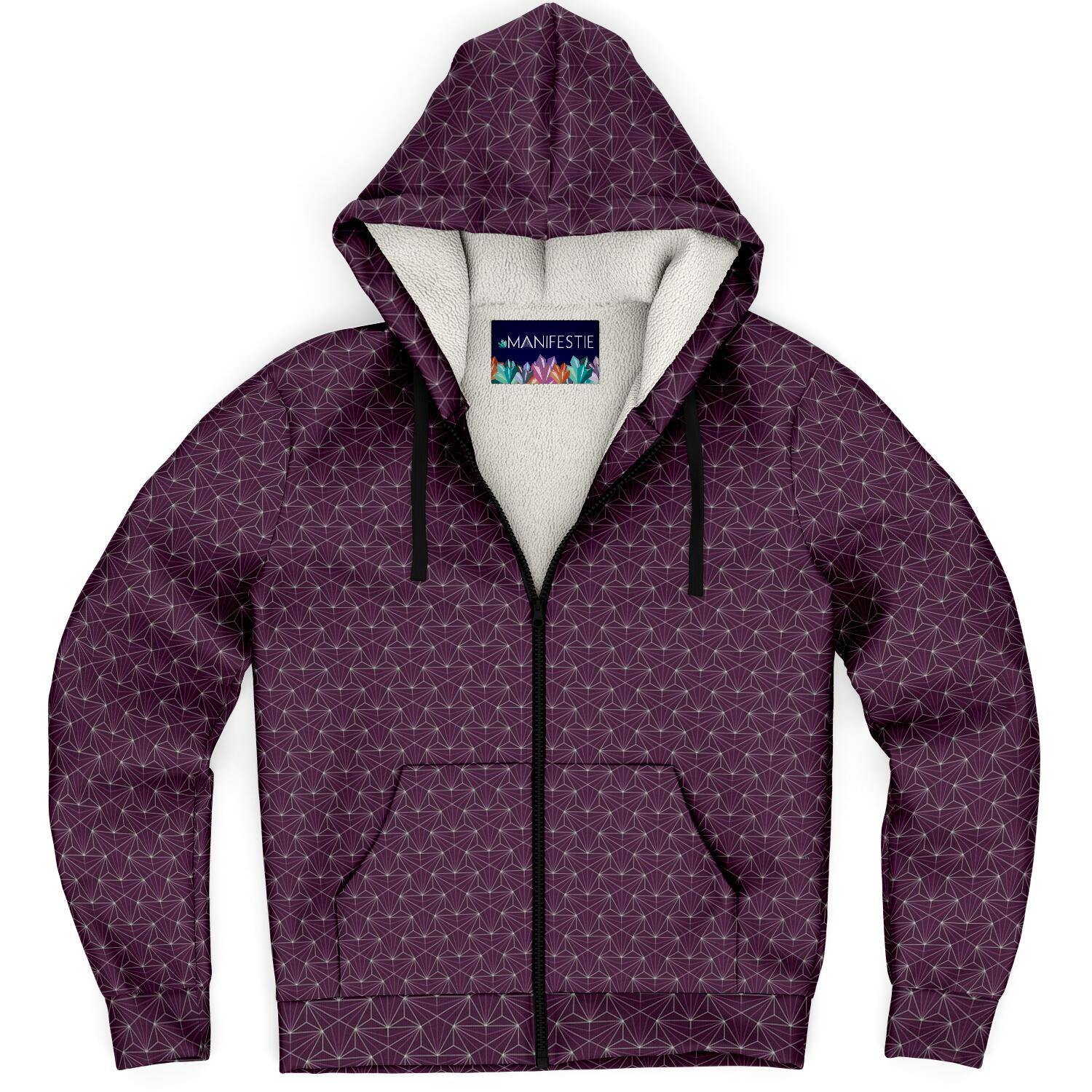 Ruby Sacred Connections Premium Sherpa Lined Zip Hoodie