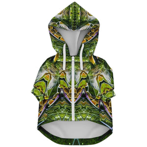 COSMIC SLITHER PREMIUM DOG ZIP UP HOODIE