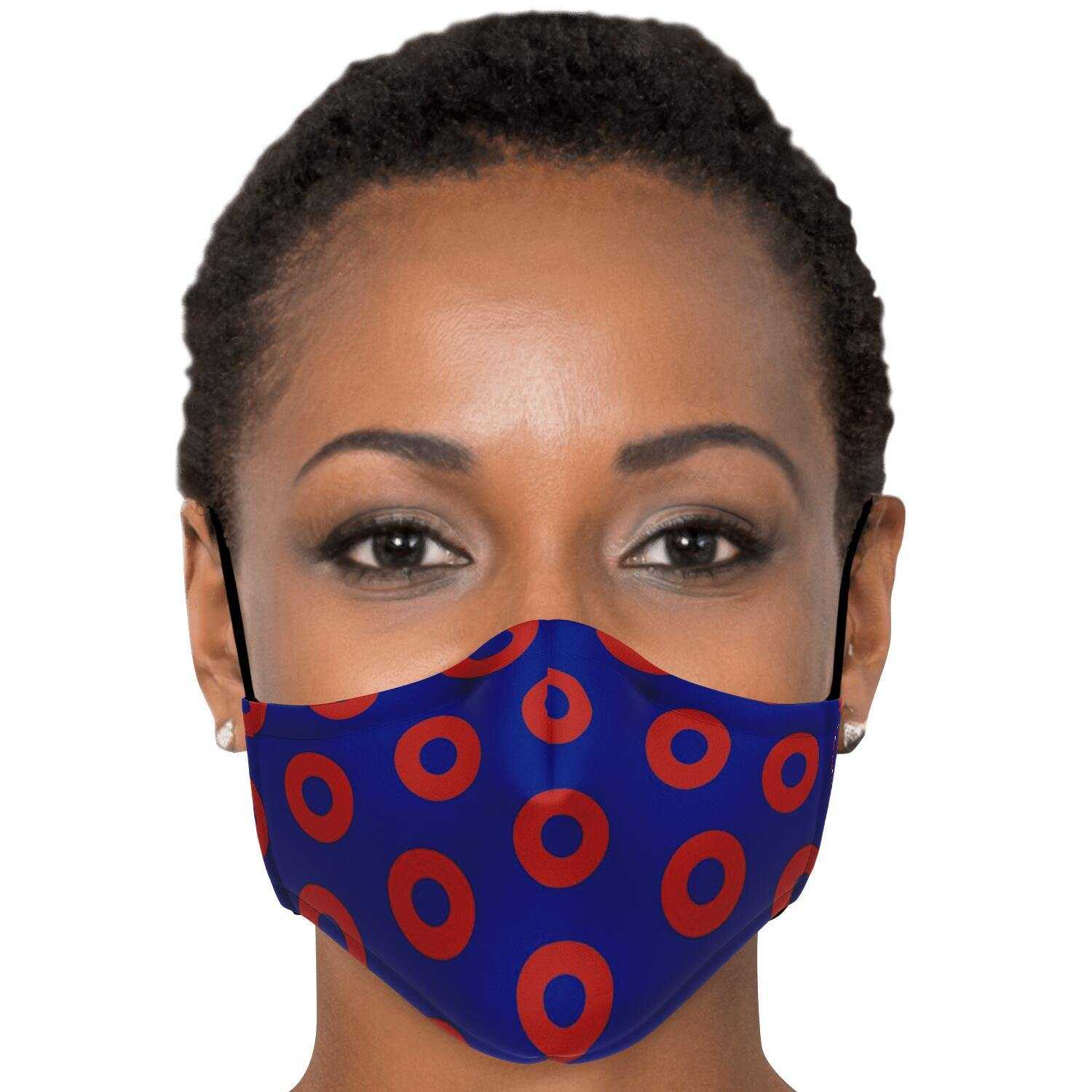 Phish Donut FACE MASK with 2pcs PM 2.5 carbon filters