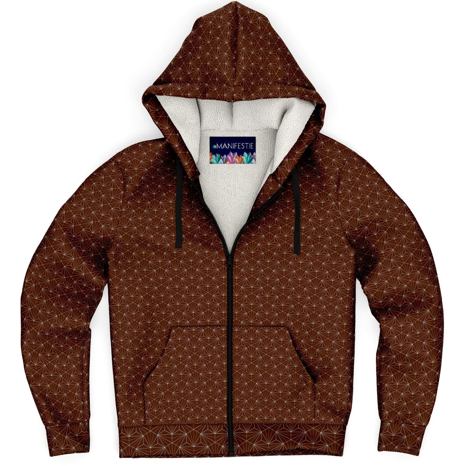 Jasper Sacred Connections Premium Sherpa Lined Zip Hoodie
