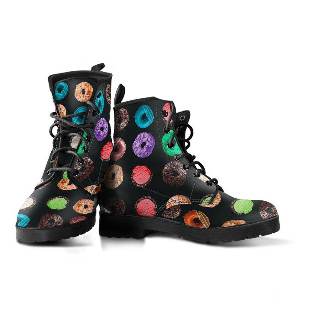 Donuts Vegan Leather Boots
