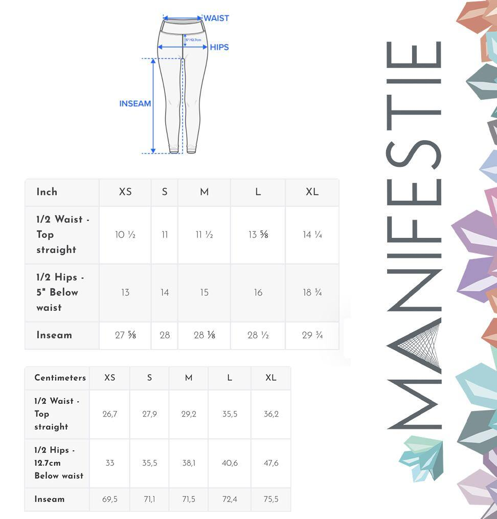 Moody Rose Premium Yoga Leggings - Manifestie