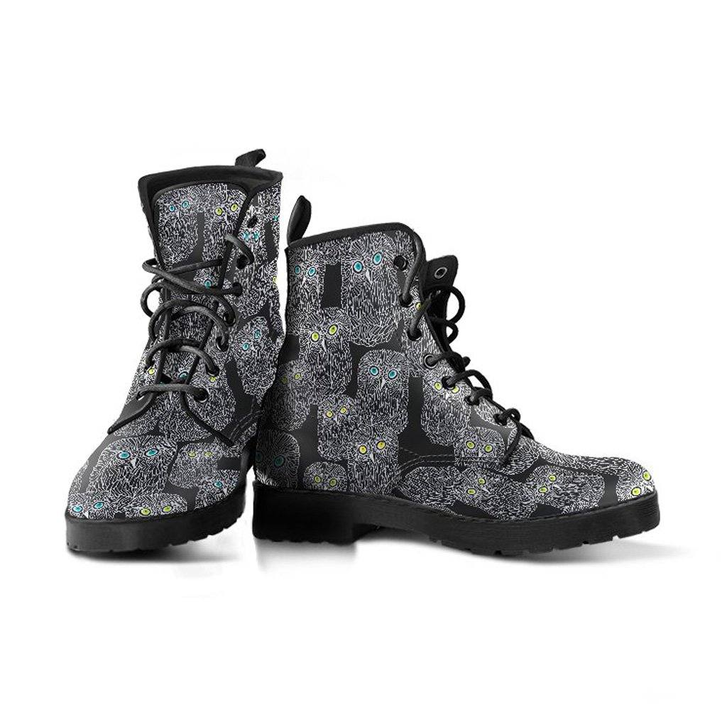 Hootin Owls Vegan Leather Boots