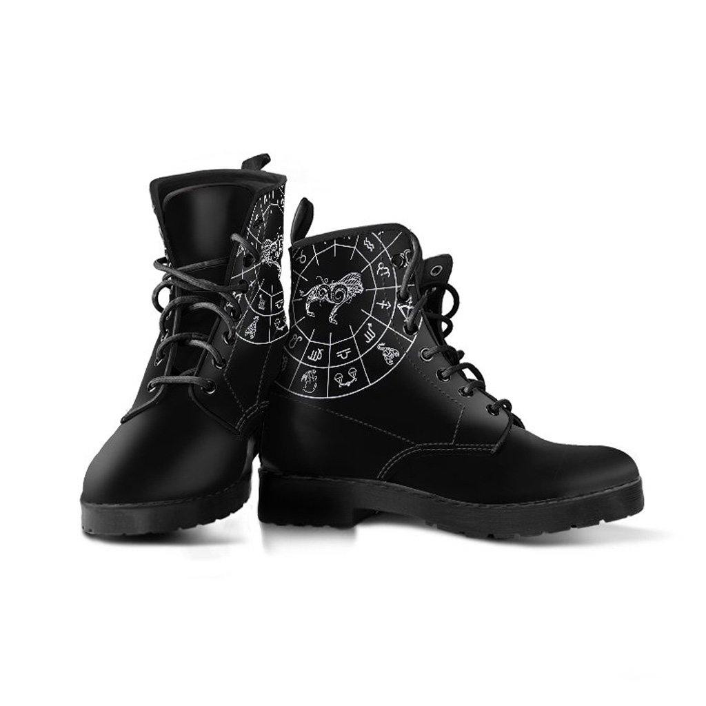 Leo Zodiac Vegan Leather Boots
