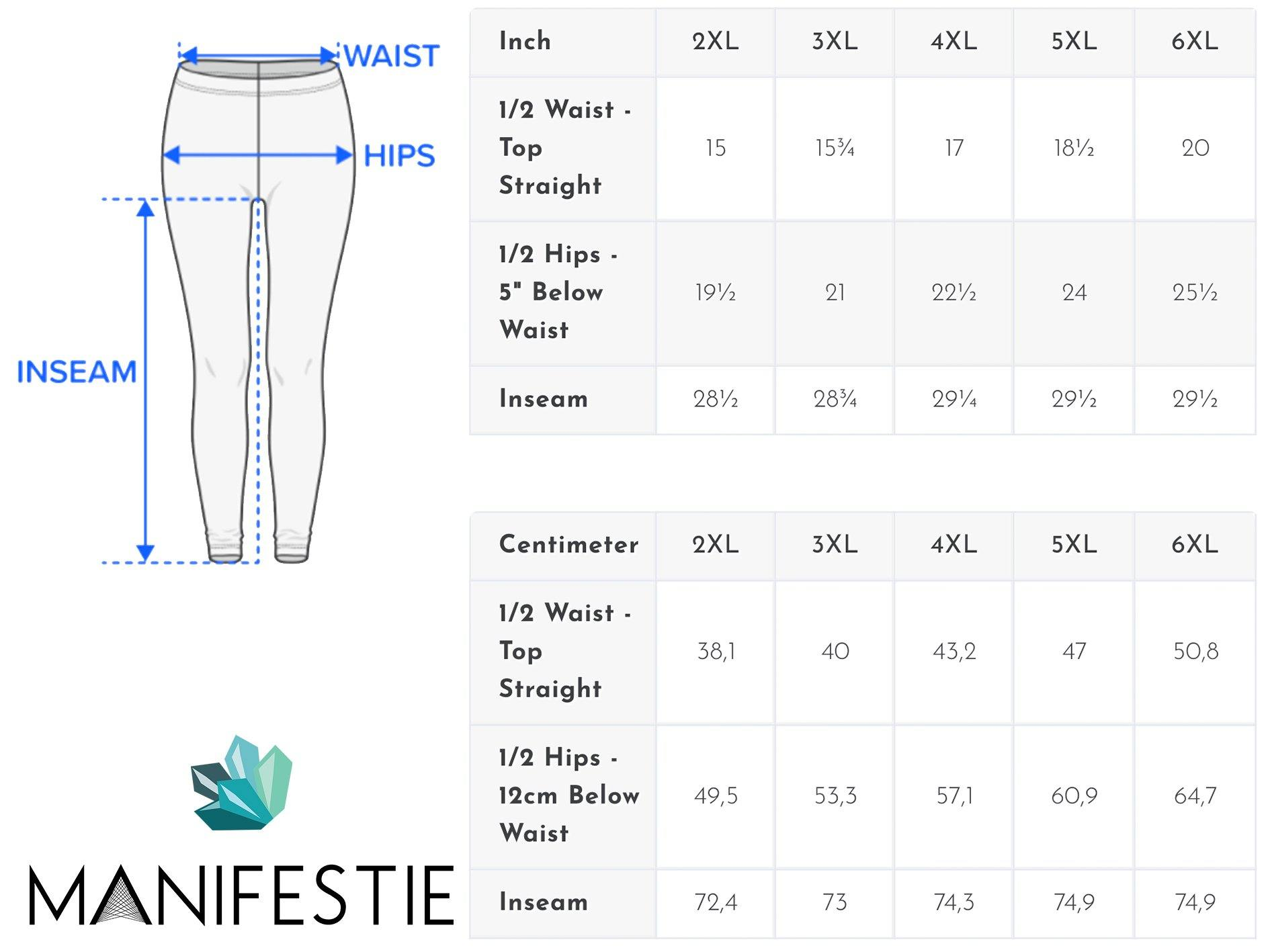 Jasper Sacred Connections Premium Plus Size Yoga Leggings - Manifestie