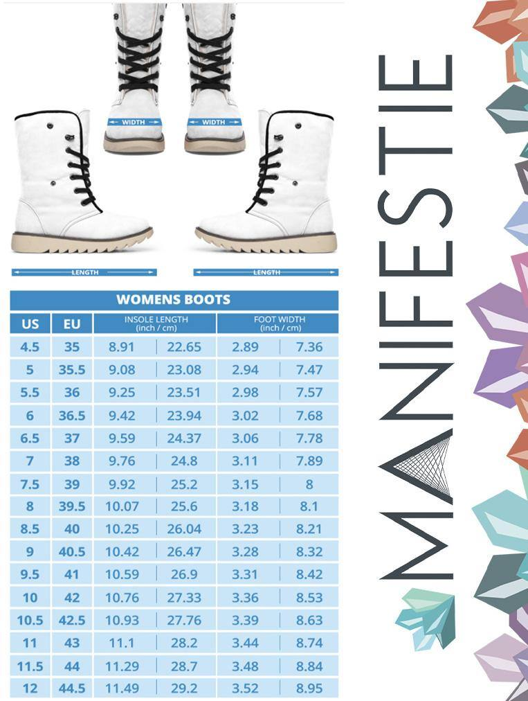 Ice Blue Winter Celebration Boots