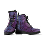 Purple Elephant Vegan Leather Boots