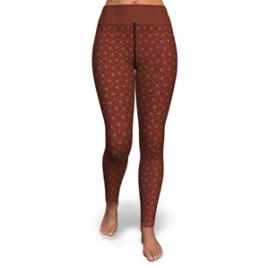 Terra Cotta Sacred Connections Premium Yoga Leggings
