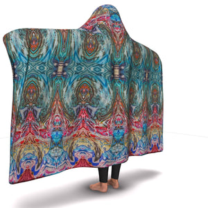 SENSORY INPUT HOODED BLANKET