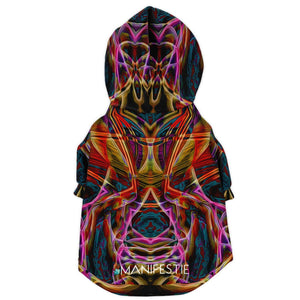 MIDNIGHT GAZE PREMIUM DOG ZIP UP HOODIE