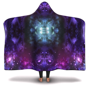 GALACTIC HOODED BLANKET