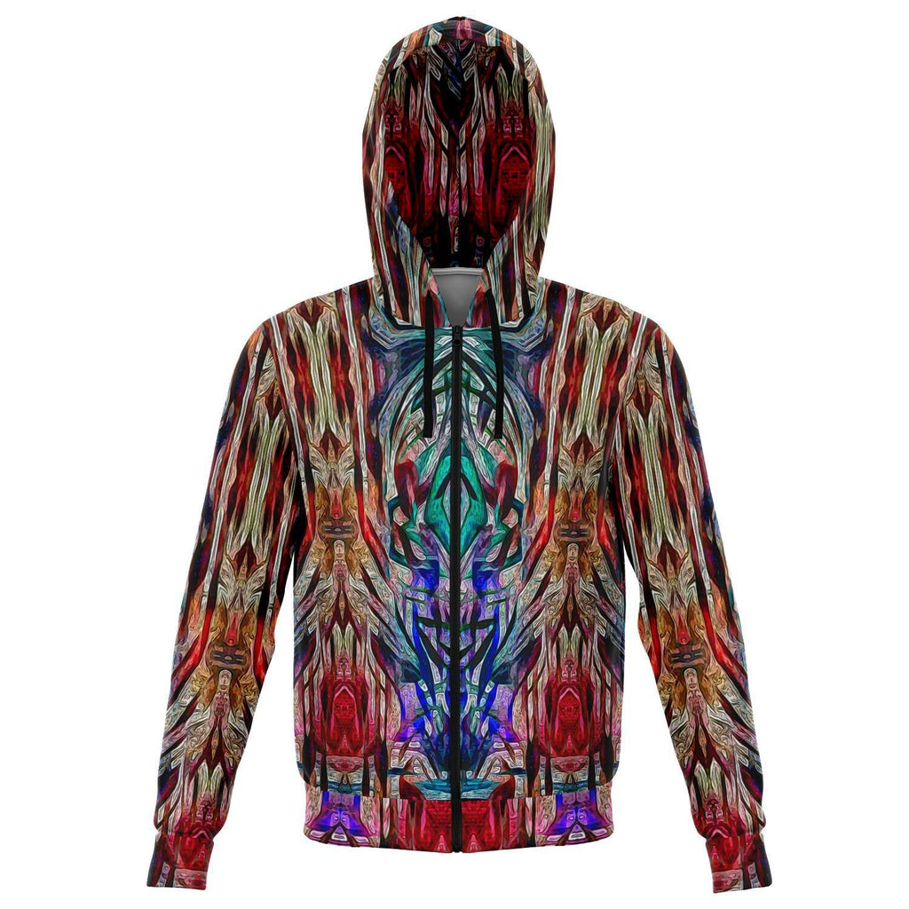 SACRAL BREATH PREMIUM ZIP UP HOODIE