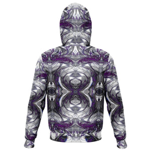 ARCHANGEL IN PURPLE PREMIUM ZIP UP HOODIE - Manifestie