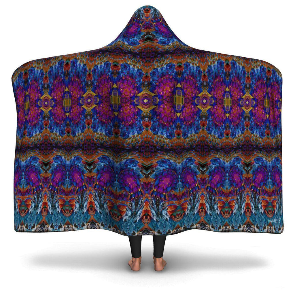 LUCID DREAMS HOODED BLANKET
