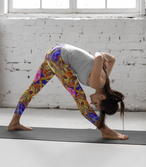 Nirvana Bliss Premium Yoga Leggings - Manifestie