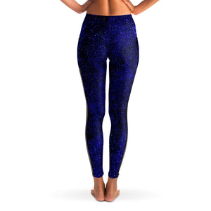GALAXY PREMIUM MESH POCKET YOGA LEGGINGS