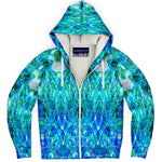 Morning Glory Premium Sherpa Lined Zip Hoodie
