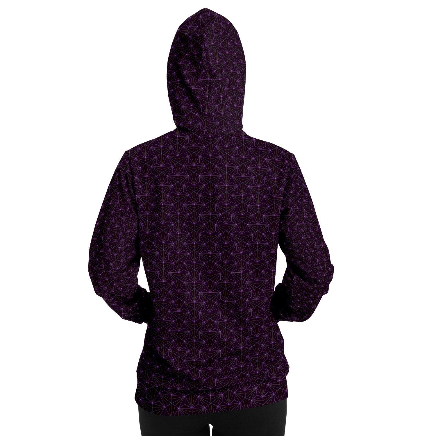 Amethyst Sacred Connections Premium Pullover Hoodie - Manifestie