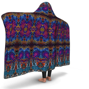 LUCID DREAMS PREMIUM HOODED BLANKET with WRIST STRAPS