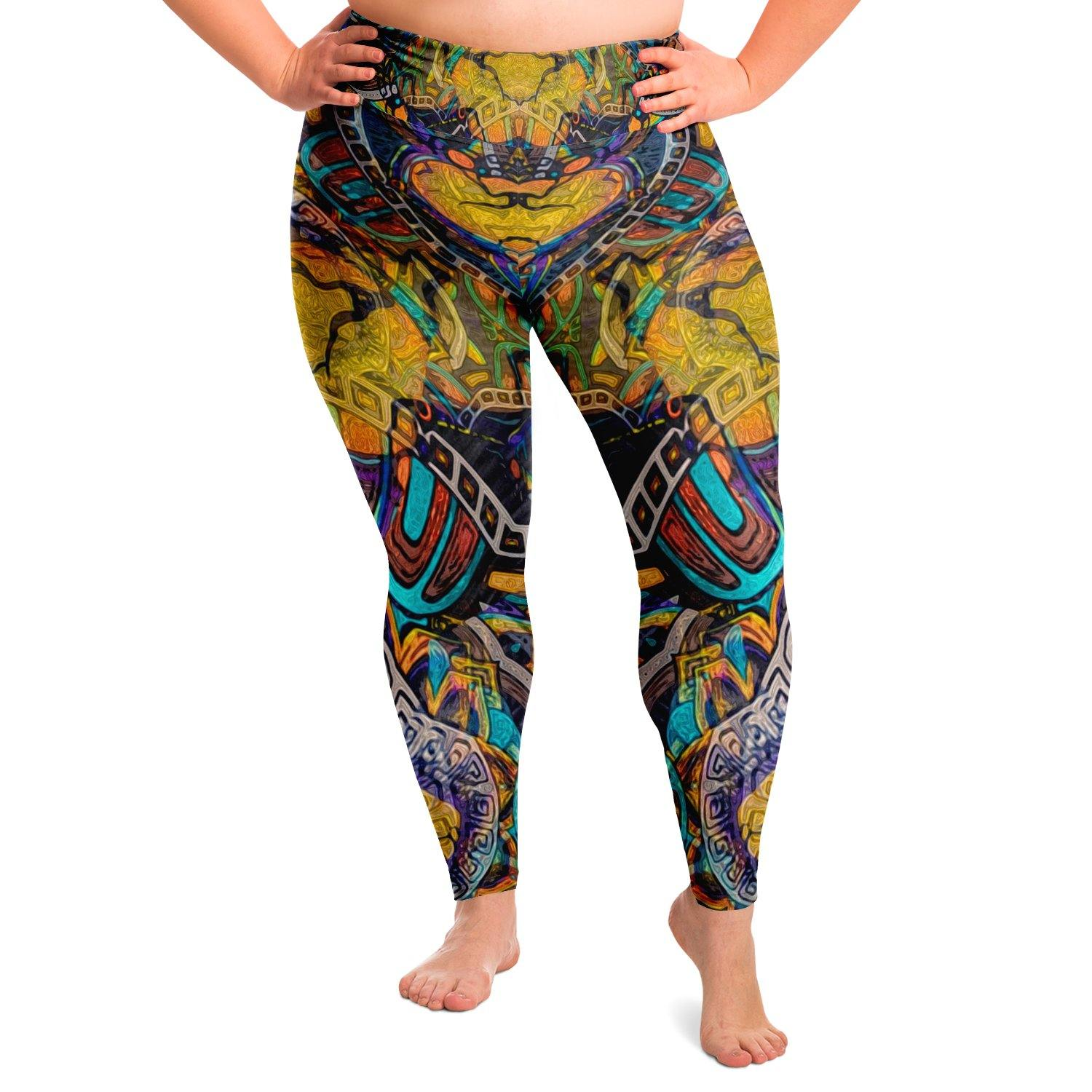 Sweet Dreams Premium Plus Size Yoga Leggings - Manifestie