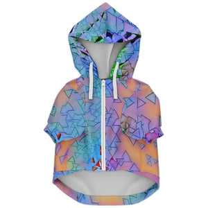 NEW WAVE PINEAPPLE PREMIUM DOG ZIP UP HOODIE