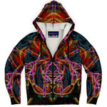 Midnight Gaze Premium Sherpa Lined Zip Hoodie
