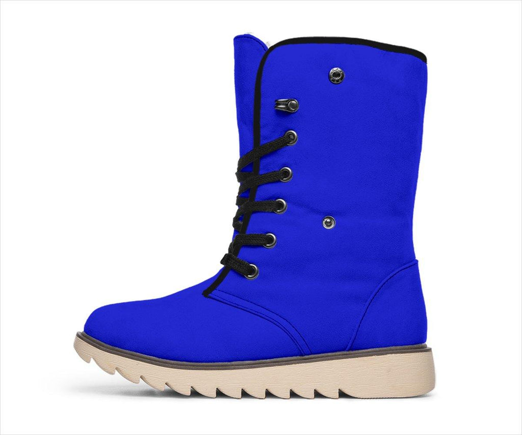 Overtly Blue Polar Boots