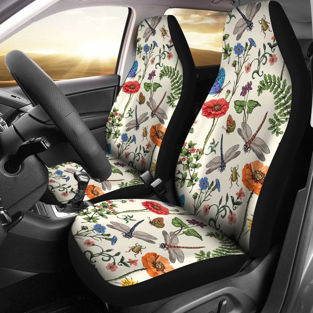Dragonfly Car Seat Covers | Set of 2
