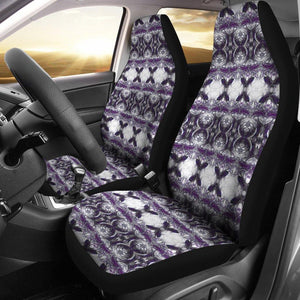 Archangel in Purple Car Seat Covers