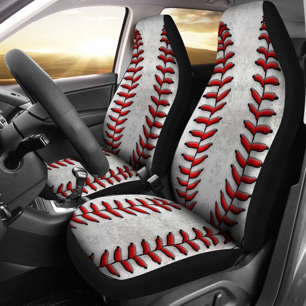 Baseball Car Seat Covers - Set of 2