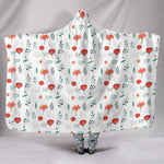 Flower Garden Hooded Blanket