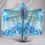 Dragonfly 2 Hooded Blanket