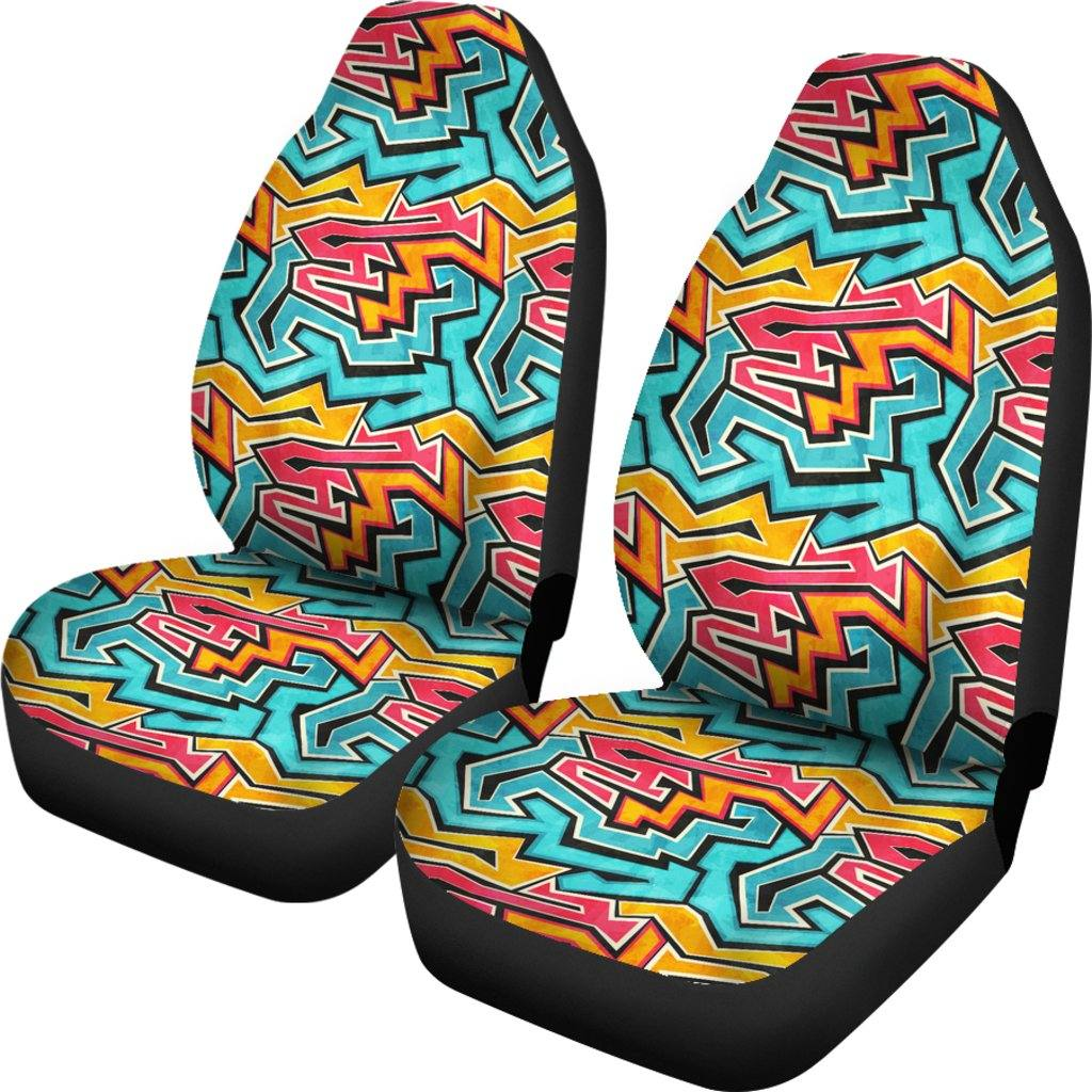 90s Car Seat Covers | Set of 2