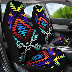 Taos Morning and Midnight Set of 2 Car Seat Covers