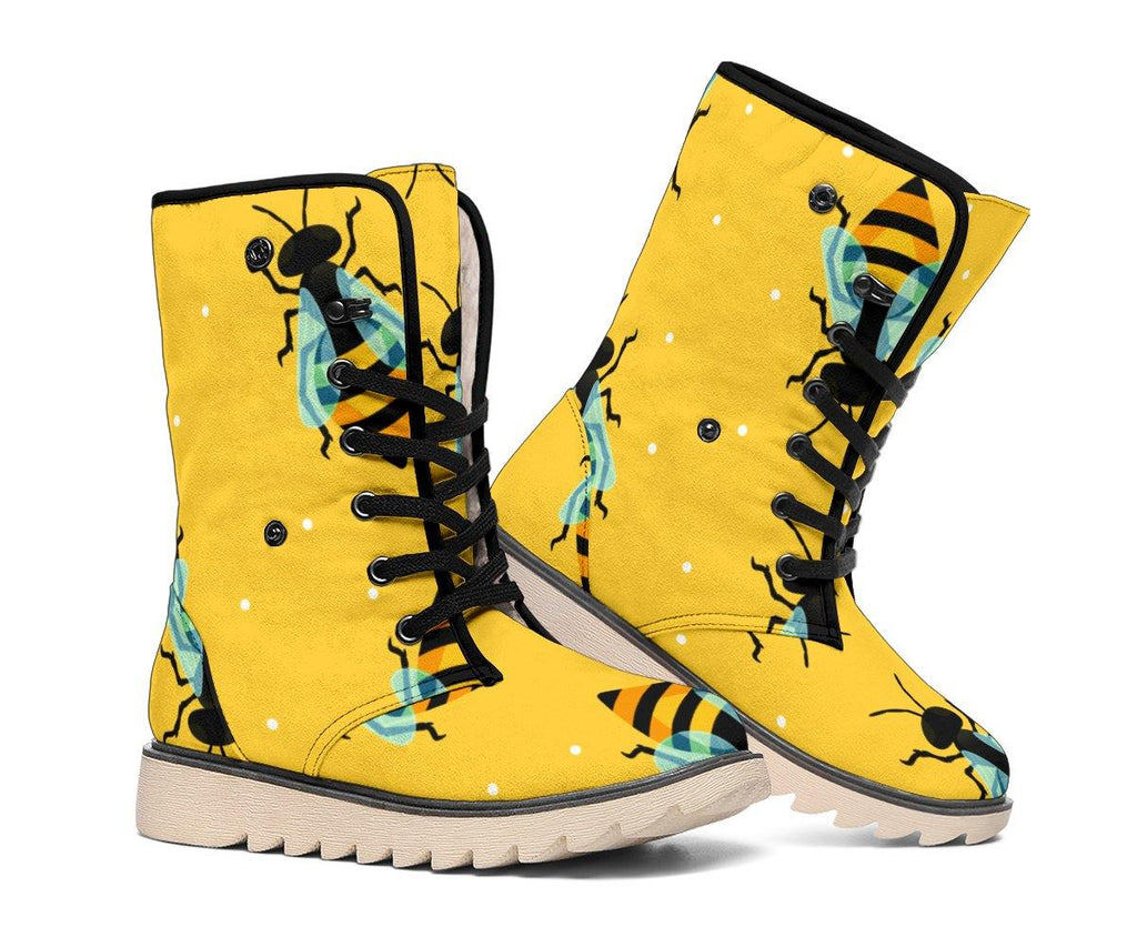 Honey Bee Polar Boots