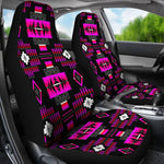 Tribal Pink Clouds Car Seat Covers